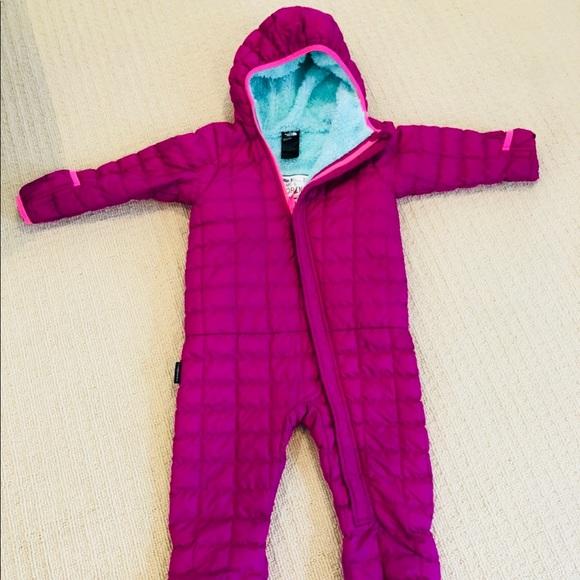 4ef909b7b NorthFace Toddler Girl Thermoball Bunting